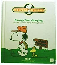 Snoopy Goes Camping