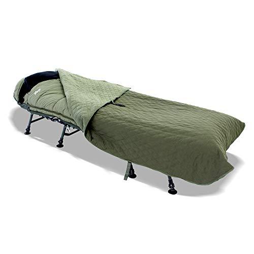 Lucx® Guardian Delux Bedchair Cover Abdeckung für Angelliege & Schlafsack Schutzhaube für Karpfenliege Rain Cover