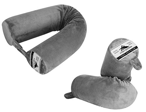 High Sierra, Fits All, Bendable Travel Pillow/Gray