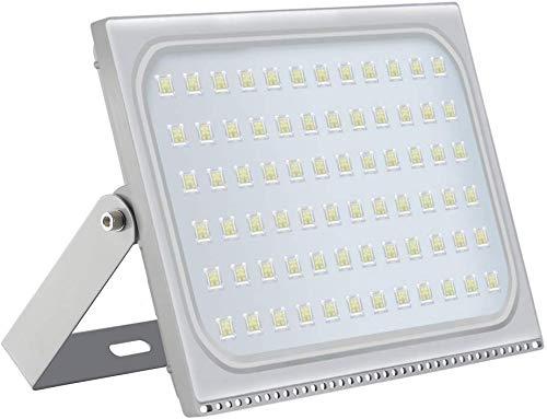Viugreum 500W LED Foco Exterior de alto brillo, Led Floodlight 50000LM 6500K(Blanco Frio),LED Focos Iluminación de, Iluminación de Exterior para Patios, Caminos, Escaleras, Fábricas,Jardines.