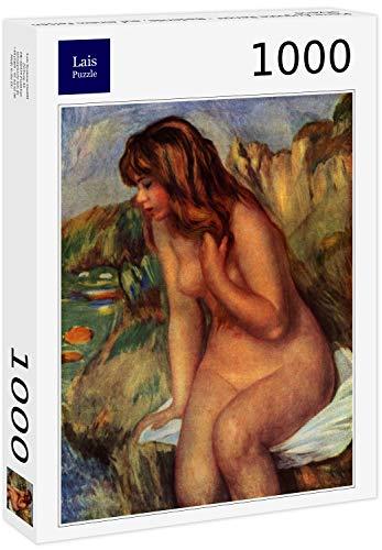 Lais Puzzle Pierre-Auguste Renoir - Bather, Seduto su Una Roccia 1000 Pezzi
