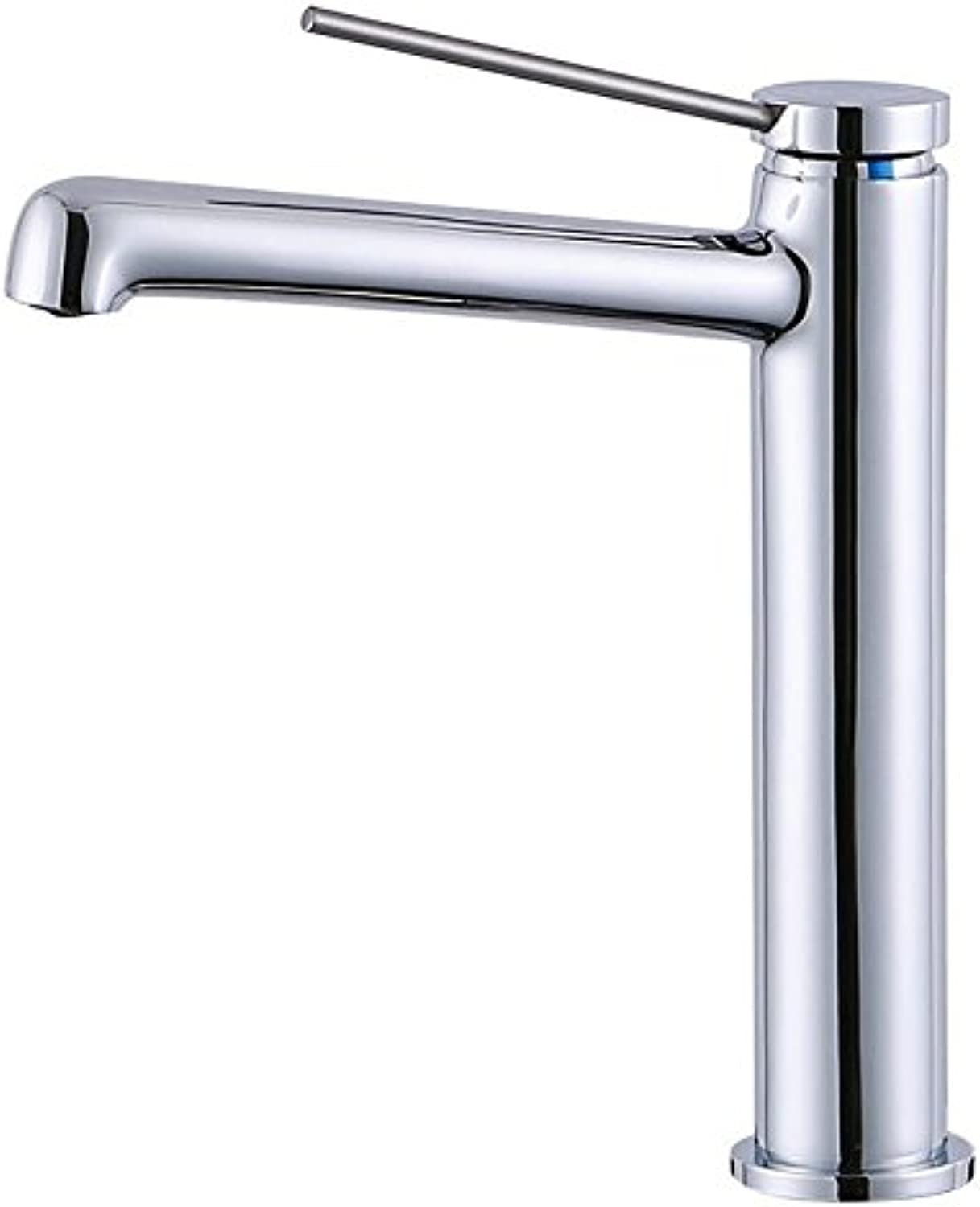 Hlluya Professional Sink Mixer Tap Kitchen Faucet Modern chrome faucet single handle basin mixer back-up mixing of hot and cold water bathroom sink Faucet