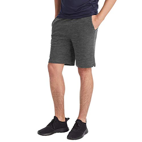 C9 Champion Men's Soft Touch Shorts, Onyx Heather, L