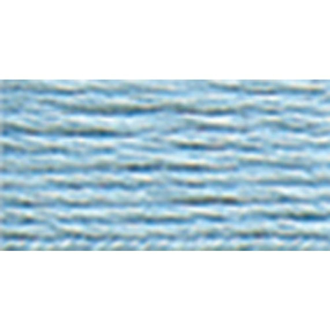 DMC 117-3325 Mouline Stranded Cotton Six Strand Embroidery Floss Thread, Blue, 8.7-Yard