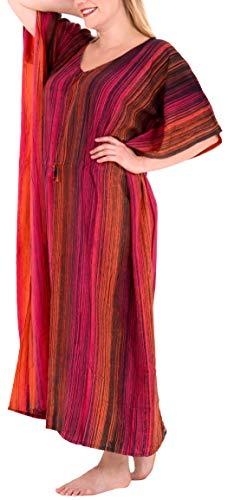 LA LEELA Women Beach Dress Boho Flowy Party Tunic Tube Dress US 0-14 Violet_E102