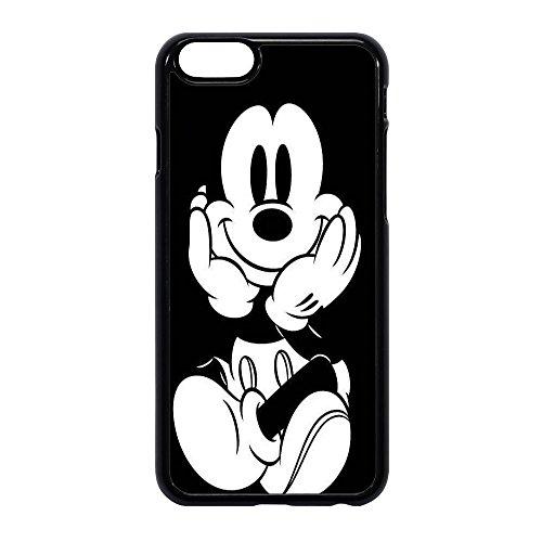 Coque en plastique TPU, belle représentation de Mickey Mouse en position assise, imprimée par sublimation, pour différents modèles IPHONE 6/6S STICKER BOMB