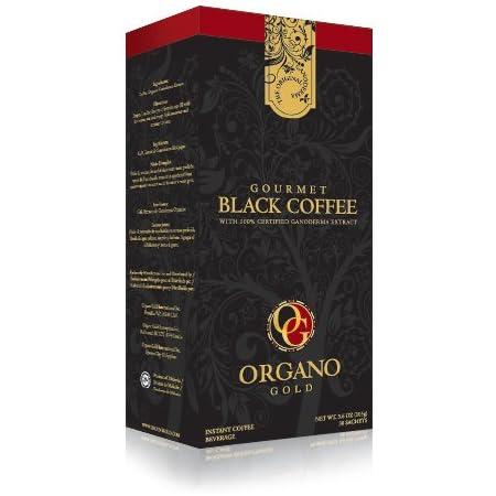 Amazon Com Organo Gold Gourmet Black Ganoderma Coffee 1 Box Of 30 Sachets Grocery Gourmet Food