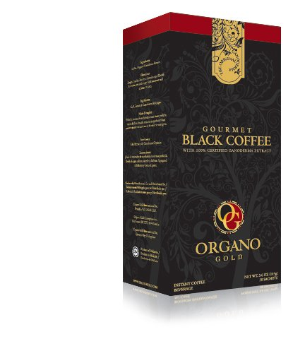 Organo Gold Gourmet Black Ganoderma Coffee