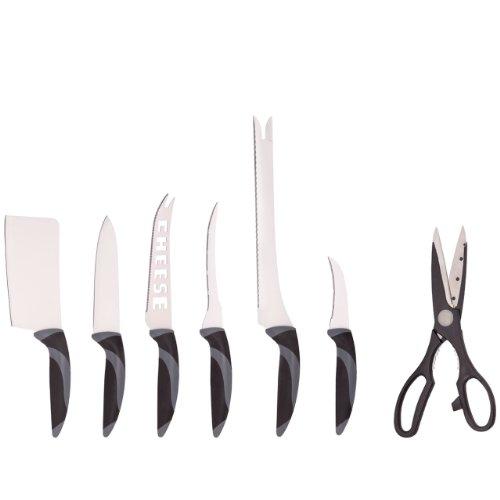 Ceramicle - Set de couteaux acier/ceramique