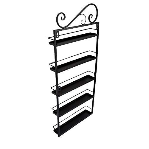 LYQZ Ordentlich Nagellack Wandhalterung, Nagellack Acryl Stand Display Stand (schwarz)