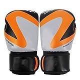 YPASDJH MMA Luchando Boxeo Deportes Guantes de Cuero Tiger Muay Thai Boxing Pads Fight Women/Men Sanda Boxe Thai Glove Box Training para Sparring y Entrenamiento