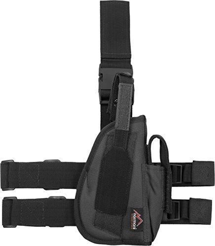 normani Tiefziehholster Pistolenholster 3 Farben rechts + Links Farbe Black Größe Links