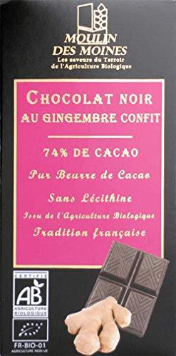 CHOCOLAT NOIR ET GINGEMBRE