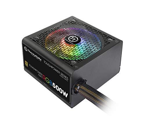 Thermaltake TOUGHPOWER GX1 RGB 500W -GOLD- PC電源ユニット 80PLUS GOLD PS814 PS-TPD-0500NHFAGJ-1