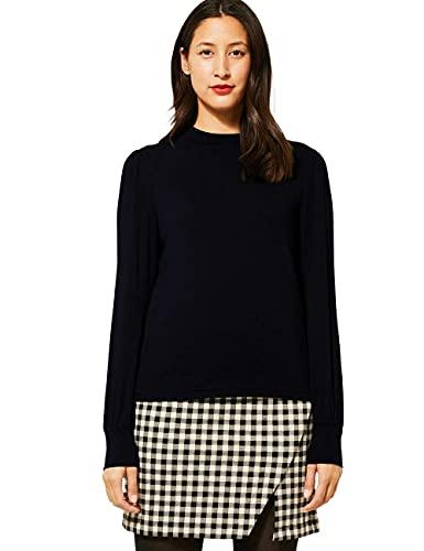 Street One Damen 315730 T-Shirt, Black, 44