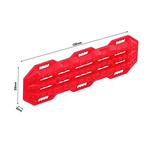 Goolsky Anti-Rutsch Selbsthilfe Bord Für 1/10 RC Crawler Auto TRX4 Defender Bronco RC4WD D90 Axial Scx10 90046 CC01 VS4 2 STÜCKE