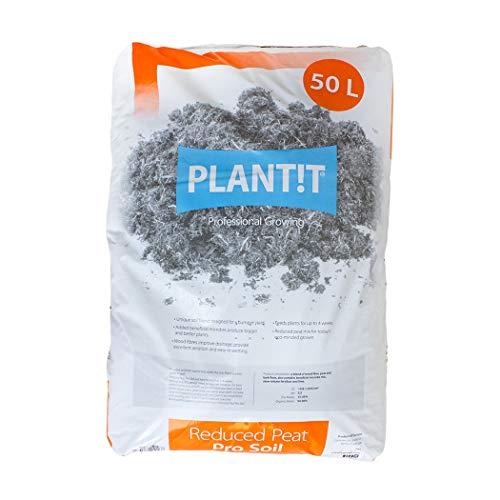 PLANT !T réduite de Tourbe Pro du Sol – Sac de 50L, Blanc, 69.2 x 47.2 x 8.6999999999999993 cm