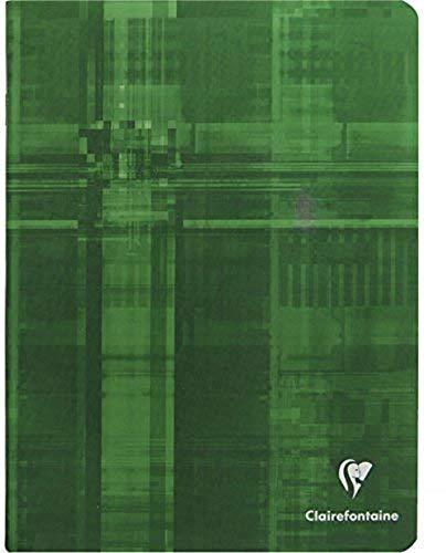 Clairefontaine 3763C,Hefte gehefteter Clairenfontine Maxi A5Französisch 64Seiten (Séyès 3mm I), liniert, Sortiert, 1 Stück
