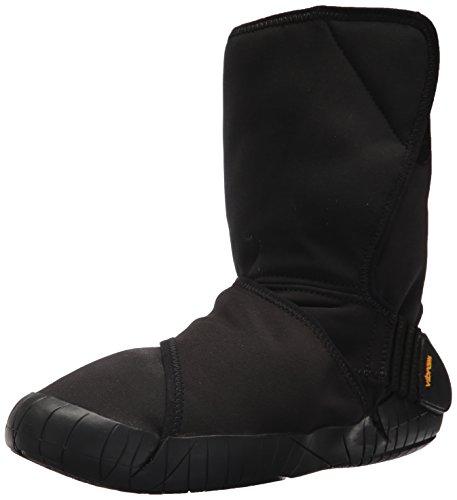 Vibram FiveFingers Unisex-Erwachsene Mid-Boot New Yorker Klassische Stiefel, Schwarz (Black) X-Weit, X-Large EU