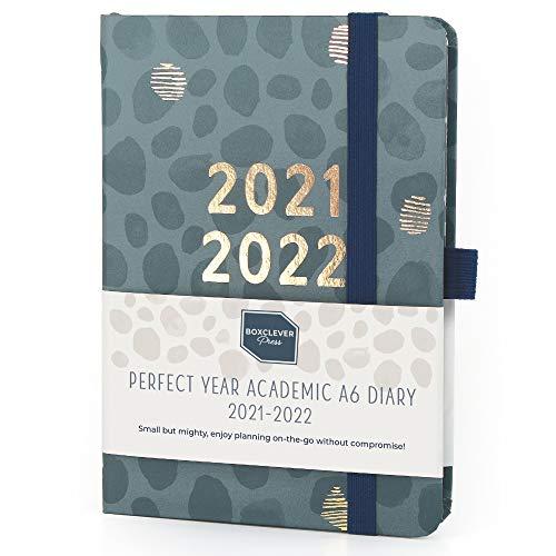 (auf Englisch) Boxclever Press Perfect Year A6 Kalender 2021 2022. Kompakter Taschenkalender 2021 2022 mit perforierten Notizseiten. Terminplaner 2021 2022 von Aug.'21-Aug.'22. 15,5 x 11 cm