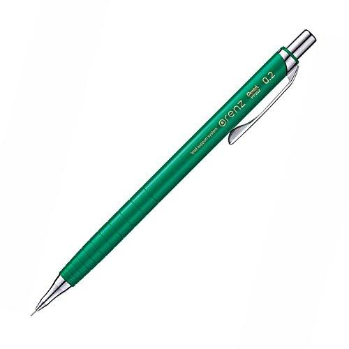 Pentel Mechanical Pencil, Orenz, 0.2mm, Green (XPP502-D)