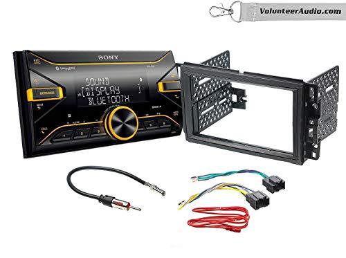 Sony DSX-B700 Double Din Radio Install Kit With SiriusXM Fits 2007-2013 Silverado, Avalanche