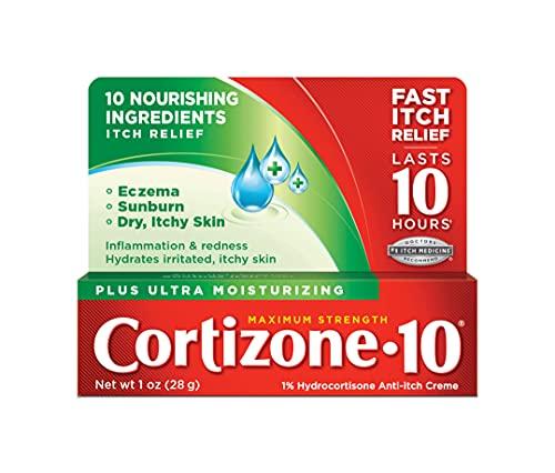 Cortizone 10 Plus Anti-Itch Cream, 1 Ounce