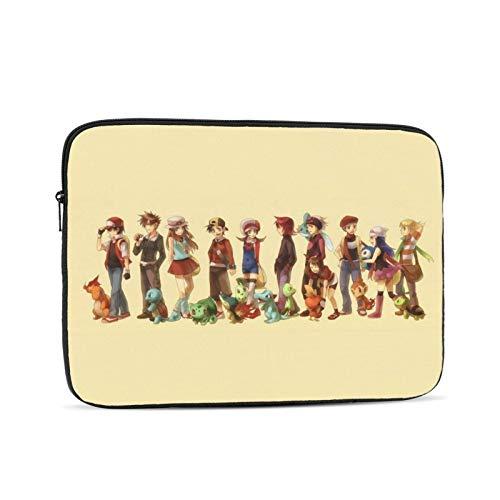 Poké-Mon- Laptop Sleeve Tablet Case Multi-Color & Size Choices of Case Briefcase Carrying Bag