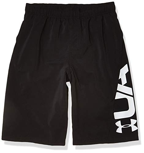 Under Armour Boys  Big Fashion Swim Trunk, Black sp20, YXL