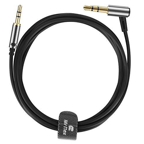 Preisvergleich Produktbild Mr Rex 1, 2m 2, 5mm auf 3, 5mm Audio Aux Ersatzkabel Klinkenkabel Kompatibel mit Bose 700 / QuietComfort QC35II,  QC35,  QC25 / SoundLink / SounTrue; JBL E65BTNC E55BT E45BT; AKG Y55 Y45 Y40 Kopfhörer