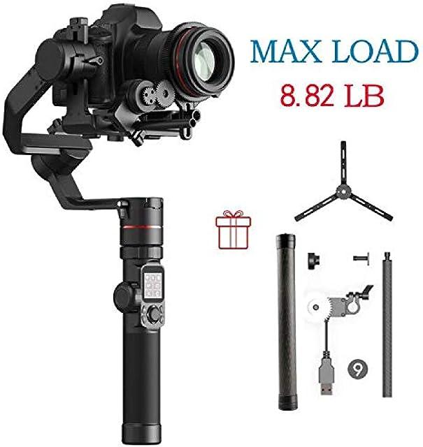 FeiyuTech Feiyu AK4000 3-Axis Handheld Camera Stabilizer Gimbal for Sony Canon 5D 6D Mark Panasonic GH5 Nikon D850 4kg Payloay