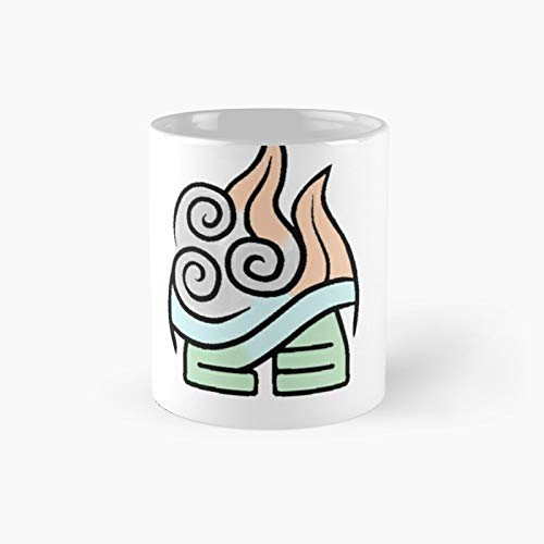 Avatar Four Elements Classic Mug - 11 Ounce For Coffee, Tea, Chocolate Or Latte.