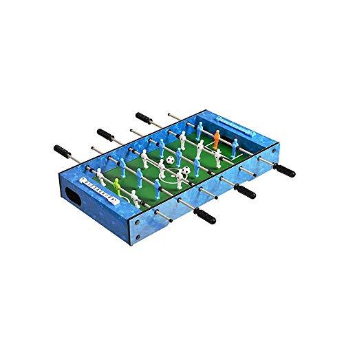 SYXX Enfants Football de Table de Bureau, Baby-Foot Mini Soccer Table de Jeu, Table de Table for Enfants Table Football Jouets, Cadeaux d'anniversaire d'enfants, Adulte Double Parent-Enfant garçon