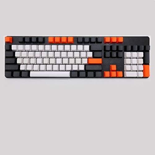 Keycaps, 104 Key Carbon Abdeckung Tastatur PBT Tastenkappe Seite Eingraviert keycaps für FILCO Mechanische Tastatur Tastenkappen