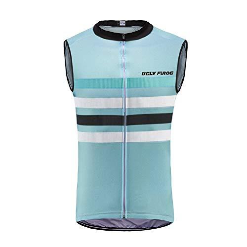 Uglyfrog Invierno Fleece Wear Multifunción Bicicleta Unidad Chaleco/Chaleco/Running Vest/radweste/Ligero Wind Chaleco 148-H19VSZR11