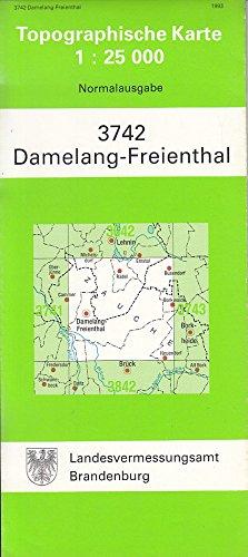 Damelang-Freienthal (Topographische Karten 1:25000 (TK 25) Land Brandenburg (amtlich))