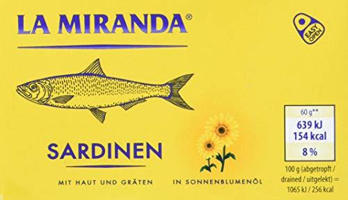 Sardinen in Sonnenblumenöl, 125 g