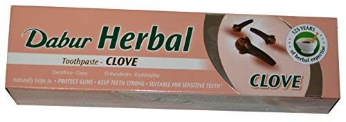 Dabur Herbal Clove 100ml Zahnpasta mit Nelke Zahnpflege