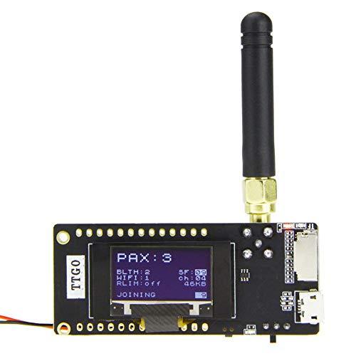 KKmoon LoRa32 V2.1 ESP32 OLED 0,96 pulgadas tarjeta SD BT SMA Antena Módulo WIFI IP5306 433 MHz