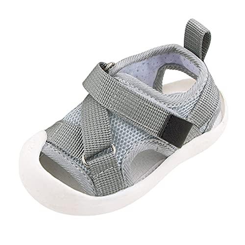 YWLINK Sandalias De Playa Transpirables De Malla Para NiñOs,Sandalias De Verano Para NiñOs, Zapatillas De Senderismo,Sandalias Deportivas Unisex Antideslizantes Zapatos Sandalias Casuales