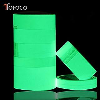 DIY 3pc 100cm Luminous Glow in The Dark Tape Sticks Safety Self-Adhesive Stage Design