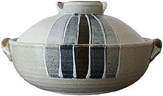 萬古焼 三鈴陶器 一珍トクサ 土鍋 (6号)