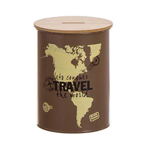 Vidal Regalos Hucha Metal Travel 10 cm