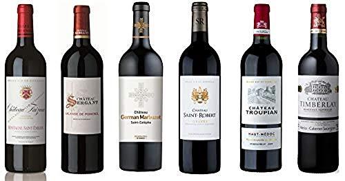 Coffret Dégustation Bordeaux - Sélection de 6 Appelations Prestigieuses