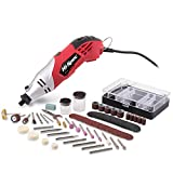 Hi-Spec 170W Corded Rotary Power Tool & Accessories Kit for DIY...