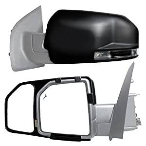 Fit System 81850 Snap and Zap Tow Mirror Pair