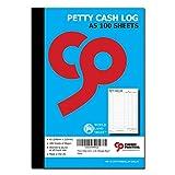 Cherry Printers - Fogli per registro delle piccole spese in formato A5, 100 pagine, 80g/m²