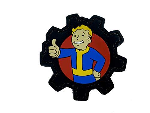 Fallout PVC Airsoft Paintball Klettverschluss-Flecken Cosplay Fan Patch