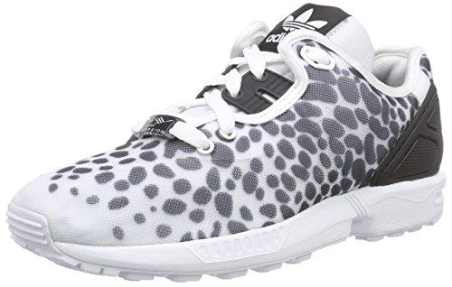 adidas ZX Flux Decon, Scarpe da Ginnastica Donna, Bianco (Ftwr White/Core Black/Ftwr White), 36 2/3 EU