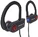 TREBLAB XR100 Bluetooth Sport Headphones,Best Wireless Earbuds for Running Workout, NC,Sweatproof,True Beats Earphones w/Mic (Black) (Renewed)